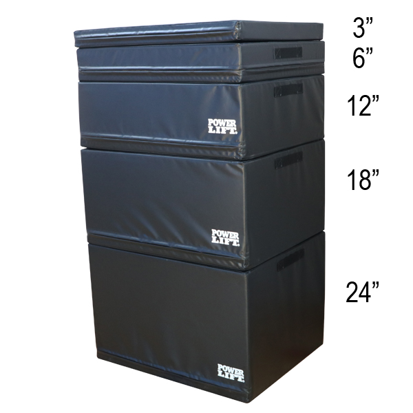 Foam Plyo Boxes  - Full Set