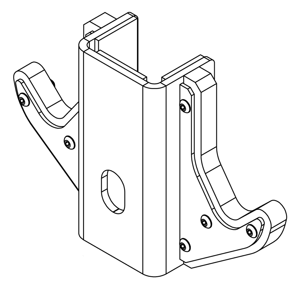 Double Sided UHMW Bar Catch