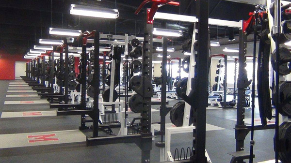 Midway High School Weight Room Installation | Power Lift