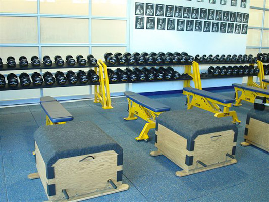 Naples High School Weight Room Installation | Power Lift