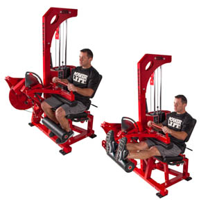 Pro Select Combo Leg Ext/Seated Leg Curl
