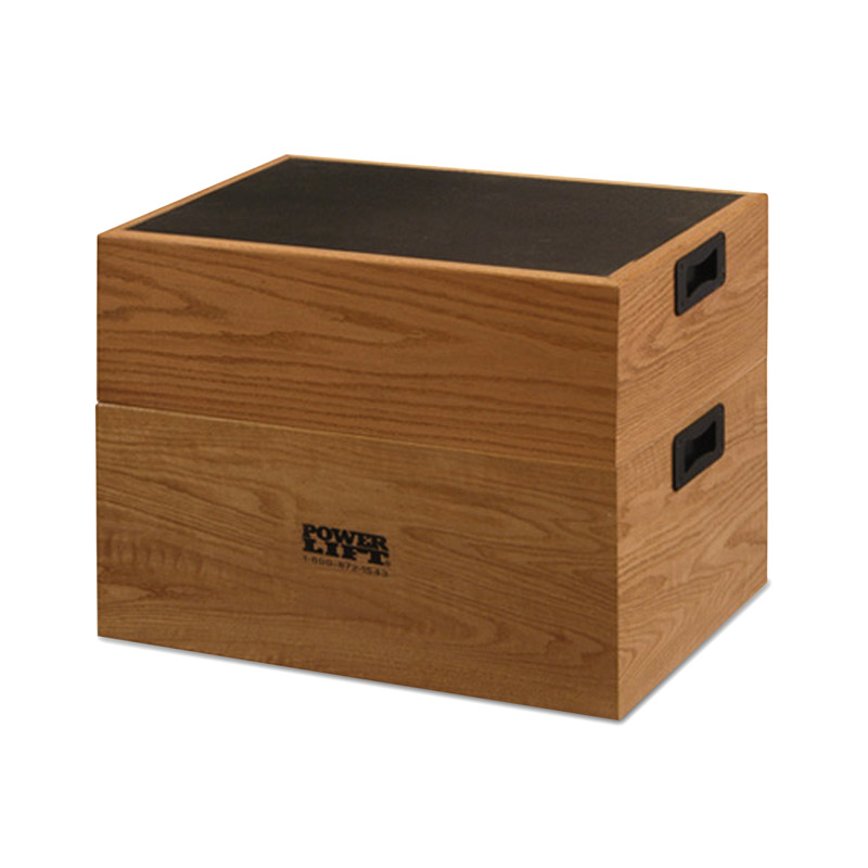 Stackable Oak Step-up Box