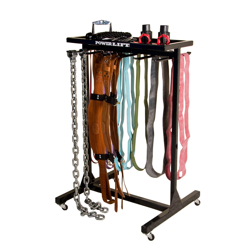 Portable Belt Rack