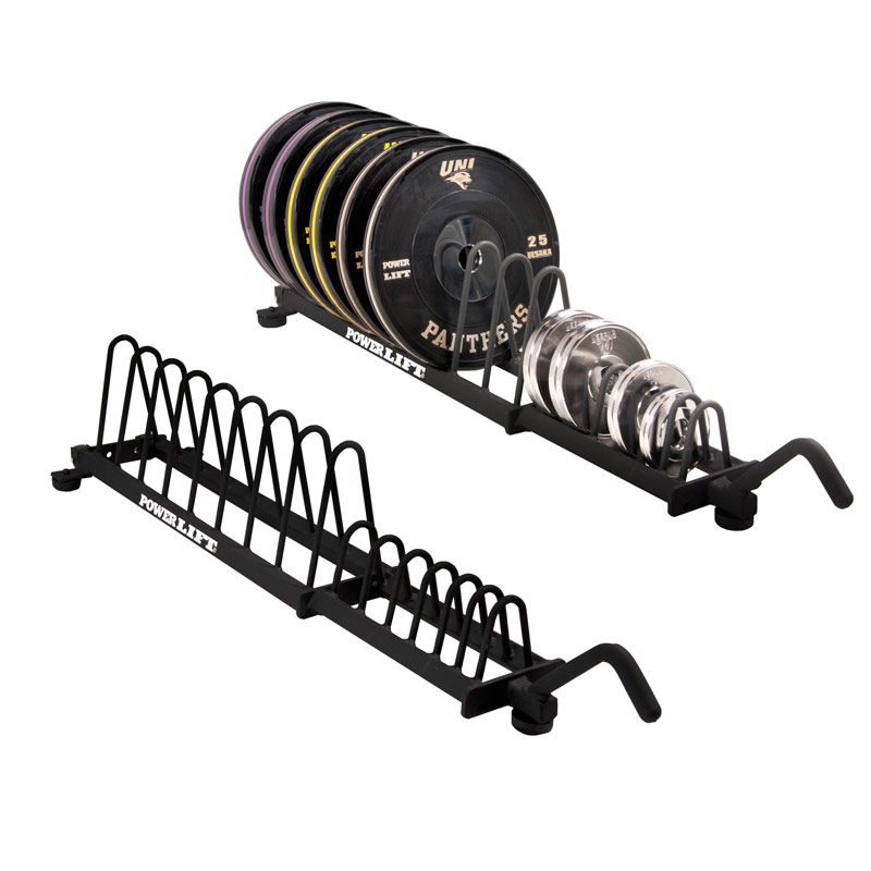 Horizontal Bumper Plate Storage - Large