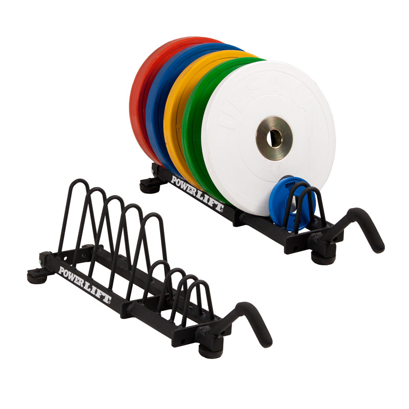 Horizontal Bumper Plate Storage - Small