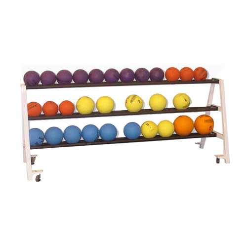 Horizontal Medicine Ball Rack