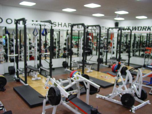 Cincinnati Bengals Weight Room Installation Power Lift